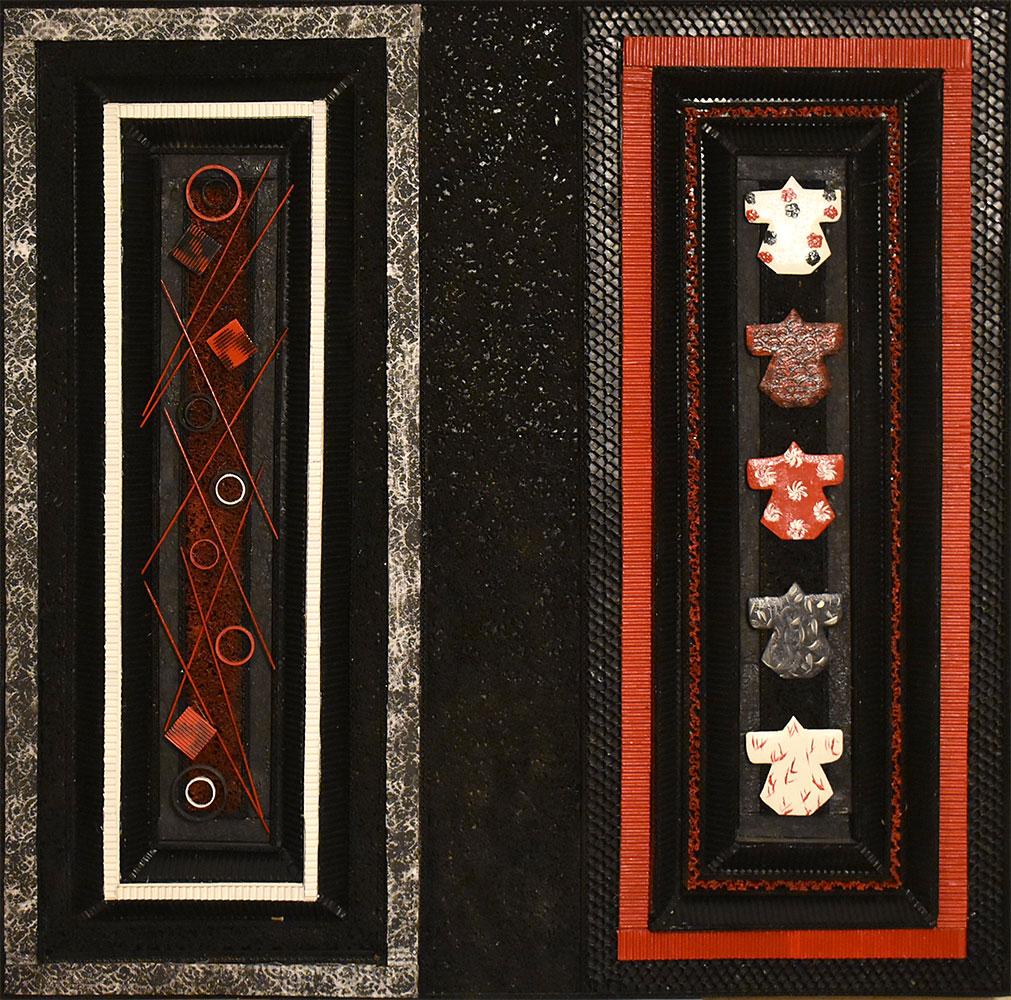 Kimonos (108 x 108 cm)